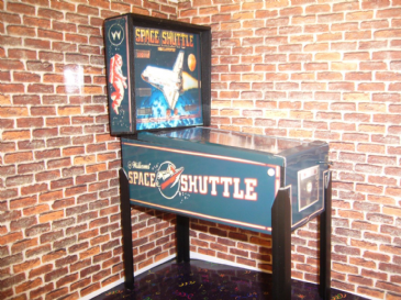 Space Shuttle  1/12th Scale Miniature Pinball Table Model